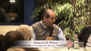 preview picture of video 'Dibattito Giustizia e Legalità a Opera (2) Antonio Di Pietro'