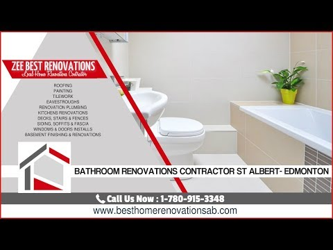 Bathroom Renovations Contractor St Albert - Edmonton ...