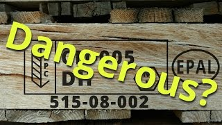 Shipping Pallet Dangers And Disassembly
