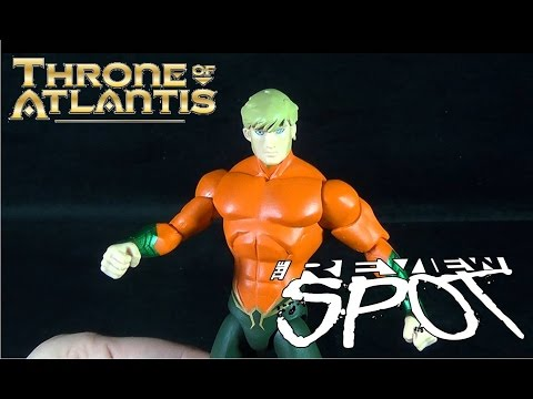 Toy Spot - DC Collectibles Justice League: Throne of Atlantis Aquaman