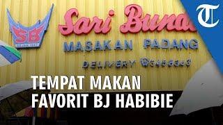 Kenangan BJ Habibie di RM Sari Bundo Gemar Ayam Goreng dan Suka Bagi Rezeki
