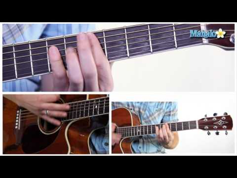 How to Play an A Minor (Am) Bar Chord on Guitar (5th Fret)