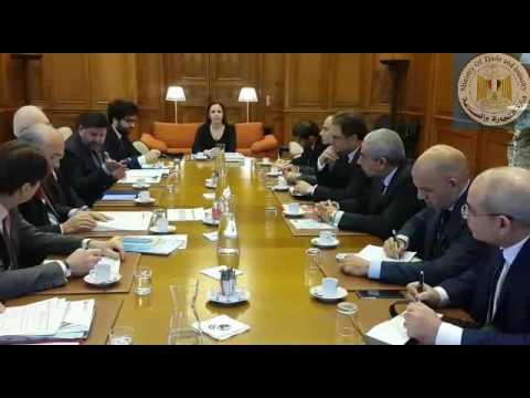 اجتماع الوزير/طارق قابيل مع السيد / أنجيل جوريا الأمين العام لمنظمة التعاون الإقتصادى والتنمية OECD