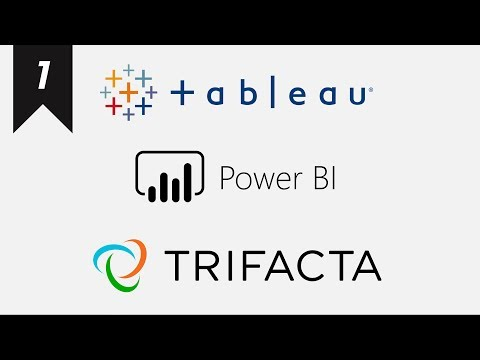 Grouping Data with Tableau Prep / Power BI (Power Query) / Trifacta Wrangler