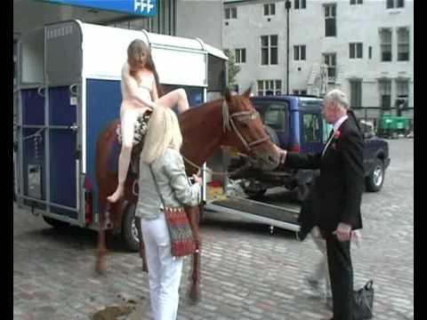 Lady godiva reenactment