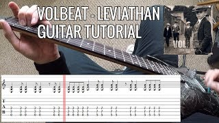 Volbeat   Leviathan Full Guitar Tutorial  Cover | PoVTab