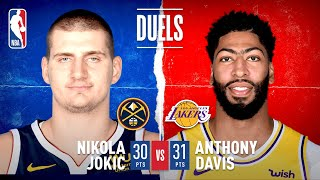 Jokic & AD Trade HUGE Buckets Down The Stretch In Game 2 Of WCF!
