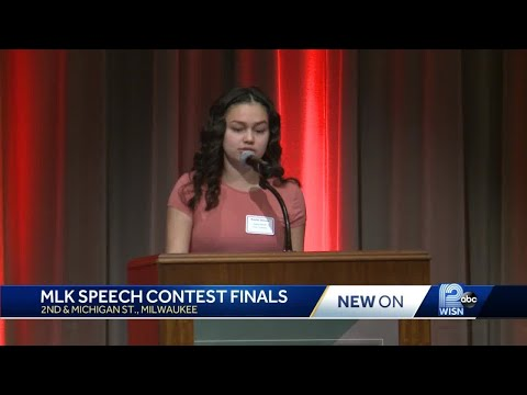 Students compete in Dr. Martin Luther King Jr. Speech Contest