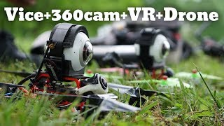 VICE + SAMSUNG 360 + VR + FPV = FIRE
