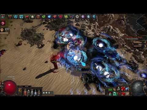 Path of Exile 3.7: Vaal Lighting Strike Champion - T15 Desert Spring