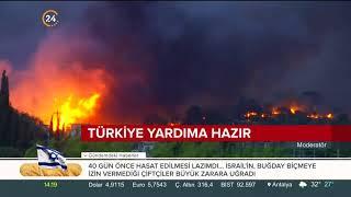 Yunan medyasına göre yangınlarda ölü sayısı 60