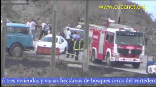 preview picture of video 'Incendio en Santa Clara Cuba'