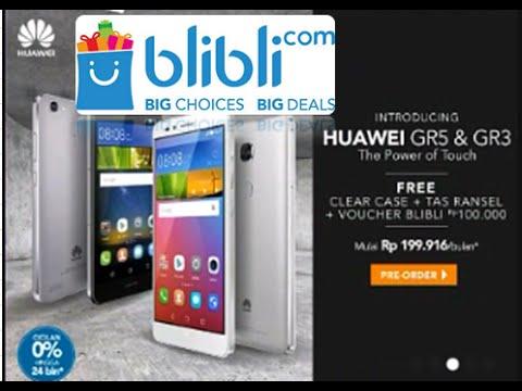 Video Cara Preorder HP Huawei GR3 di blibli Memakai Kartu Kredit ,Cicilan 0 Persen