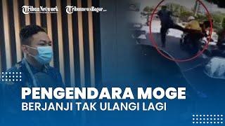 Pengendara Moge Penerobos Ring 1 Beri Klarifikasi di Mako Paspampres, Minta Maaf seusai Video Viral