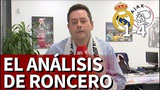"""Real Madrid 1 Ajax 4   Roncero, Roto Tras La Eliminación: """"Me Siento Humillado""""   Diario As"""