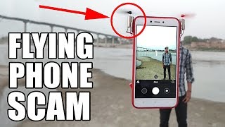 FLYING PHONE SCAM EXPOSED (so I built a REAL one)