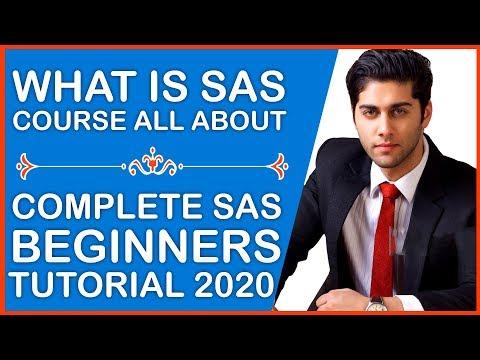 SAS Programming Tutorial For Beginners - Free Clinical SAS Training