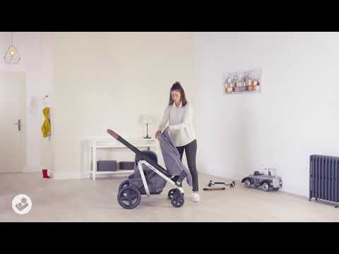 Lila Stroller: How to attach the Duo kit