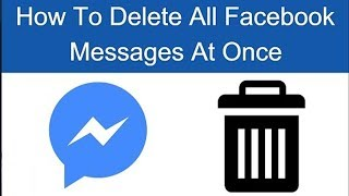 DELETE ALL FACEBOOK MESSAGES in One CLICK | Delete Multiply in Urdu /Hindi || 2017 ||