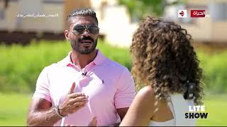"lite show - ""الفنان خالد سليم يكشف عن سر فقدان وزنه الفترة الماضية عند بداية تصوير مسلسل ""بلا دليل"