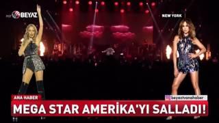 Megastar Tarkan Amerika'yı Salladı! Dünyaca Ünlü Yıldızlarla Aynı Sahnede! | Beyaz Ana Haber