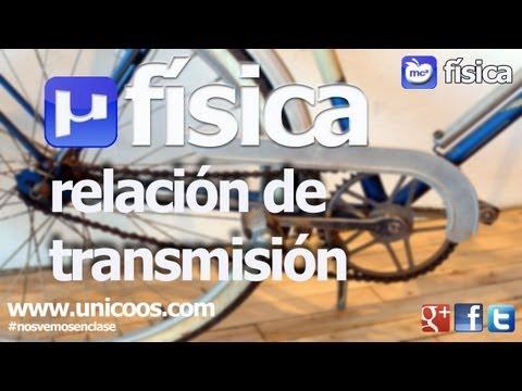FISICA Poleas Simples SECUNDARIA (4ºESO) relacion de transmision MCUV