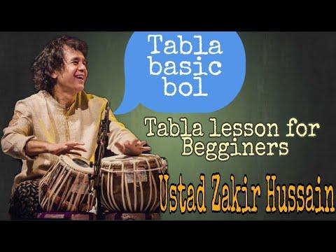 Ustad Zakir Hussain Teaching Basic Tabla Bol | Tabla lessons for Begginers | live Instagram