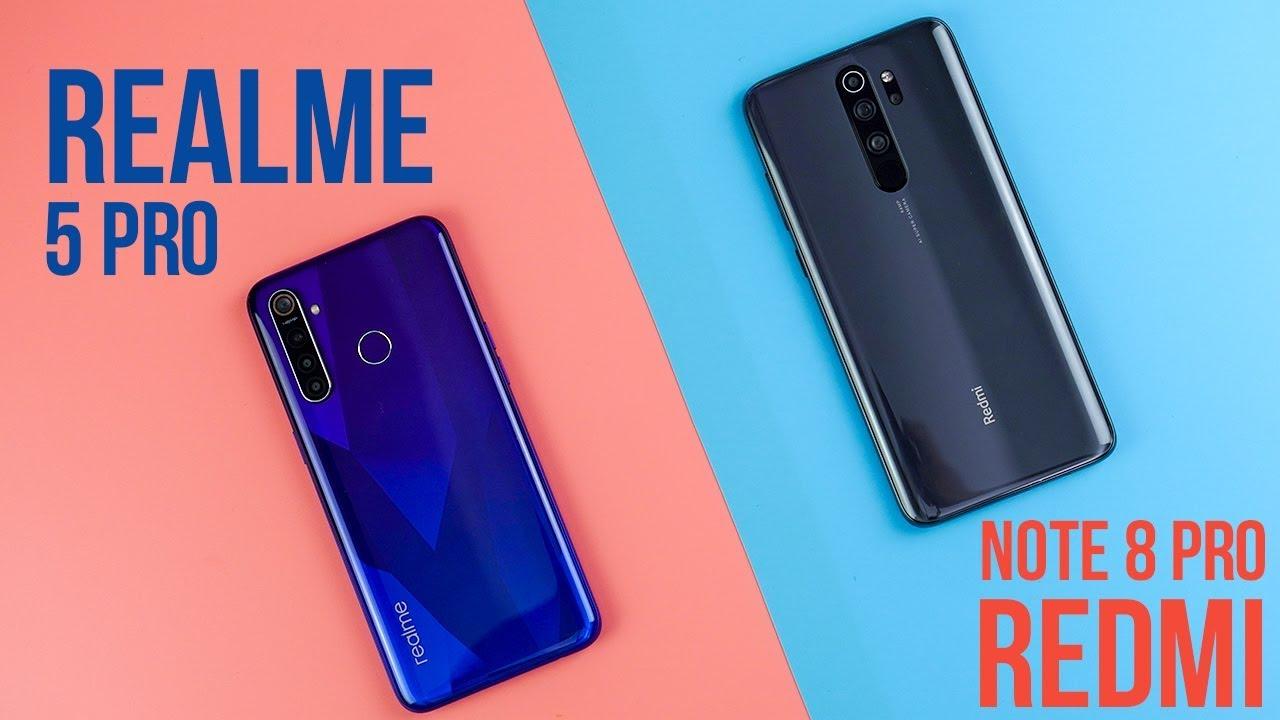 So sánh Realme 5 Pro vs Redmi Note 8 Pro: Realme có thắng được Xiaomi?