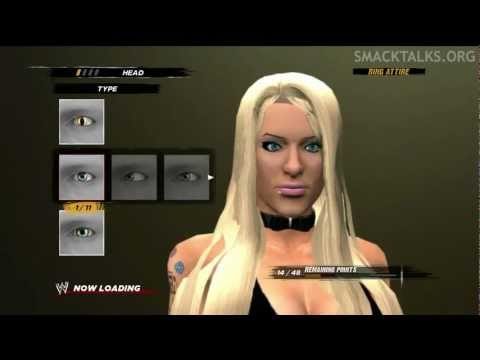 WWE '13 Angelina Love Formula By JayTeeJr - игровое видео