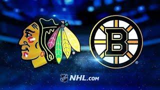 CHICAGO BLACKHAWKS VS BOSTON BRUINS  3/10/18