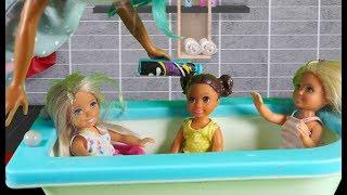 Rodzinka Barbie - Trudne zadanie.Bajka dla dzieci po polsku. The sims 4. Odc. 81