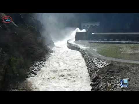 Le immagini dei fiumi in piena