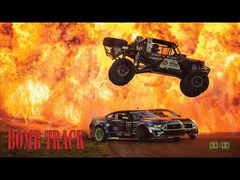 ヴァーン・ギッティンJr.が「BOMB TRACK」を公開!Fordマスタングで豪快にドリフトを決める動画