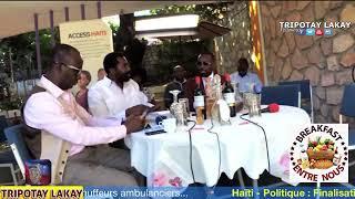 Arnel Belizaire manke goumen ak Prezidan Michel Martelly. Youn te fonse sou lòt