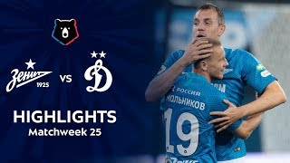 Highlights Zenit vs Dynamo (2-0)