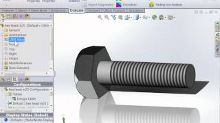 Setting Standard Material To You Part From Solidworks Design Table