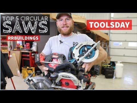Top 5 Cordless Circular Saws: Toolsday