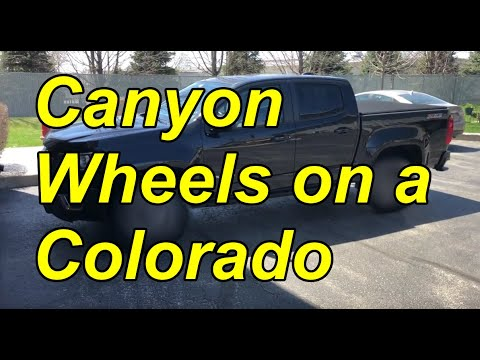 New Wheels for the Colorado!