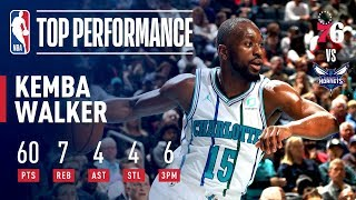 Kemba Walker Drops A Career High 60 In Match Up 76ers | November 17, 2018