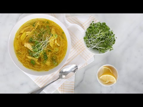 Ginger-Spice Chicken Soup- Everyday Food with Sarah Carey