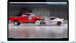 КРАШ ТЕСТ джип против легковушки. Ford против Honda \ Краш-тест Форд против Хонды