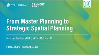 From Master Planning to Strategic Spatial Planning