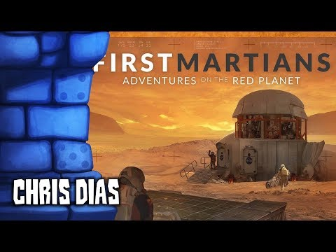 First Martians: Adventures on the Red Planet Review with Chris Dias