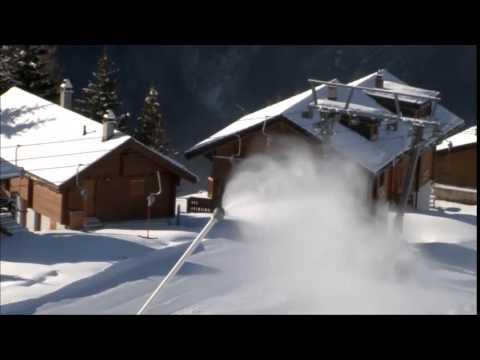 Beschneiung im Skigebiet Rosswald
