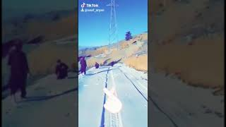 preview picture of video 'Snow In Khost Afghanistan ⛷'
