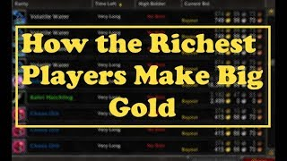 How the Richest WoW Players Make Gold: Auction House Flipping Guide   How to Make Gold #5