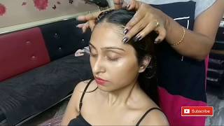 Oil Massage for Hair || With Steam Step by Step || Hair oil massage Treatement