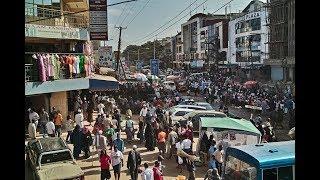 Heaps of garbage dot roads & streets of Nairobi