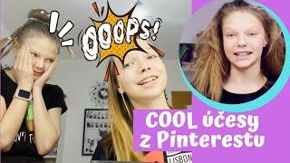 Zkoušíme cool účesy z Pinterestu /GymDuo
