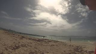 preview picture of video 'Walk on the beach in Anguilla BWI'